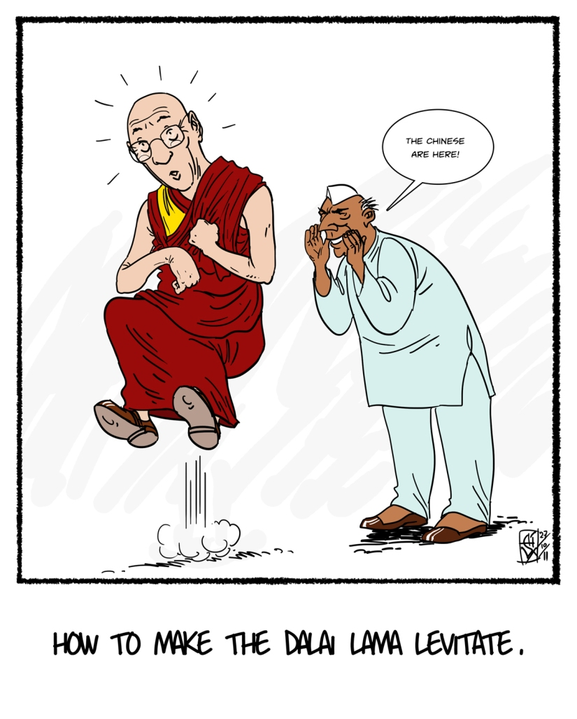 Don't believe the lie, Lama!