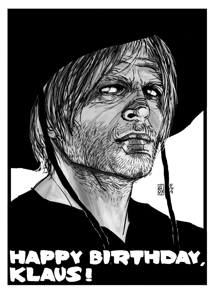 Happy Birthday, Klaus!