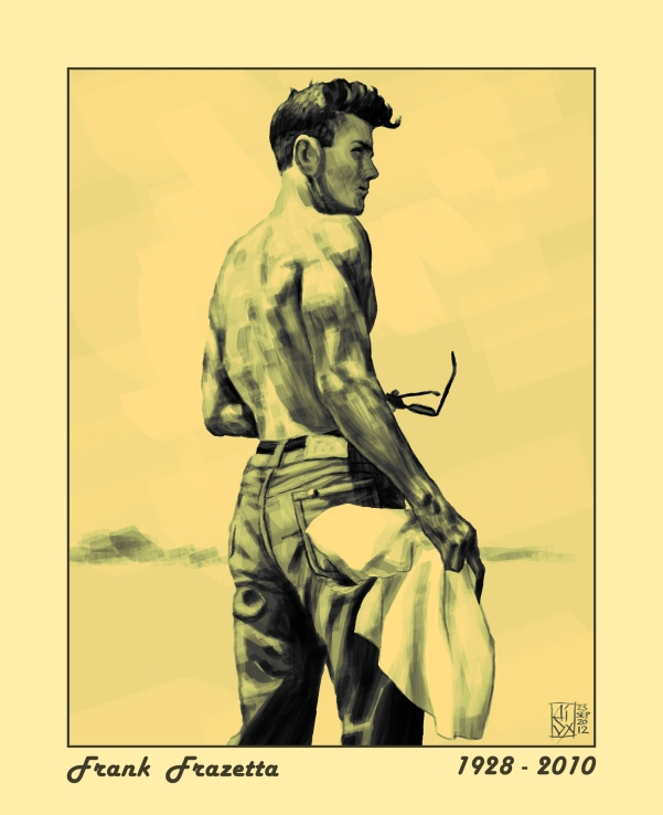 A Tribute To Frank Frazetta