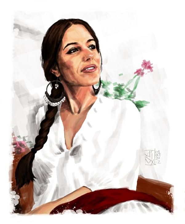 'Flamenco: A Study In Sunlight' I