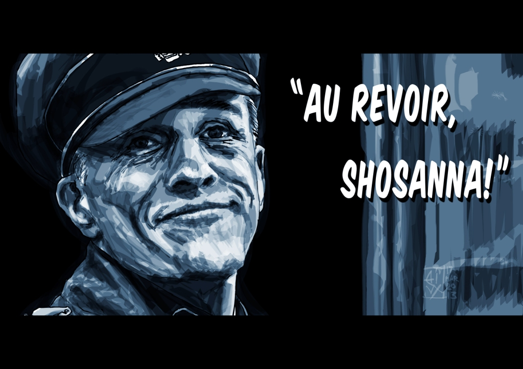"""Au revoir, Shosanna!"""