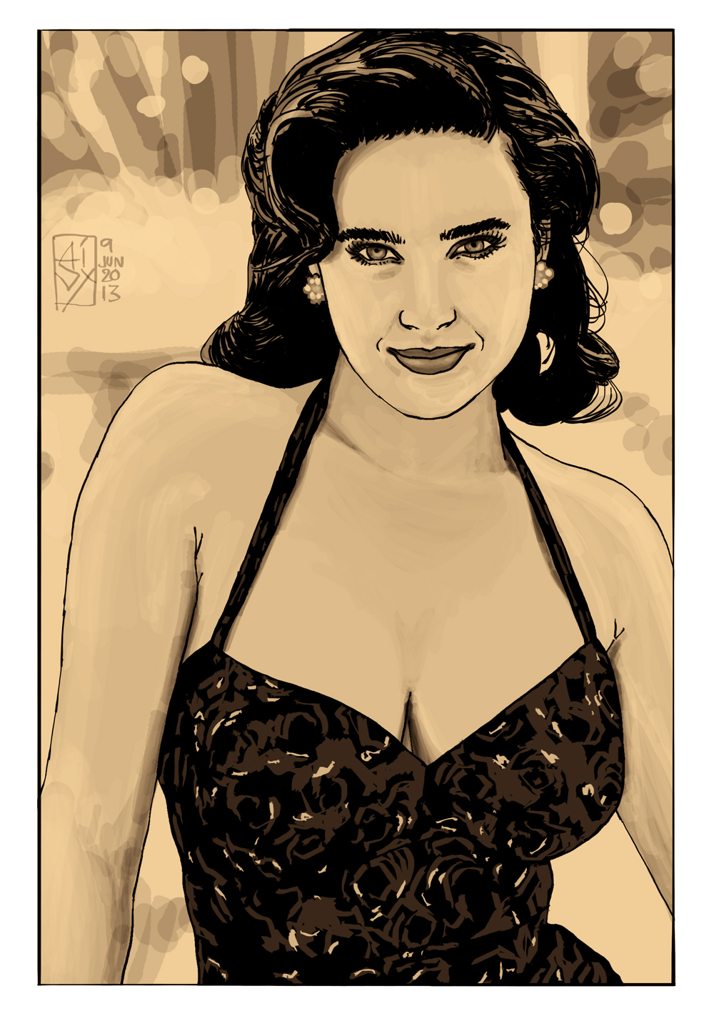tags jennifer connelly milo manara