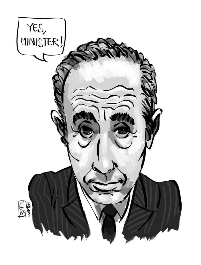 Sir Humphrey Appleby, GCB, KBE, MVO, MA (Oxon)