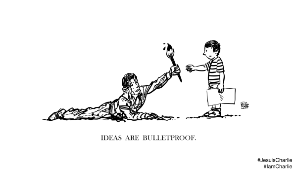 Ideas Are Bulletproof: in solidarity with 'Charlie Hebdo'