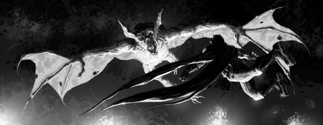 Batman Black & White: Duel Over Gotham