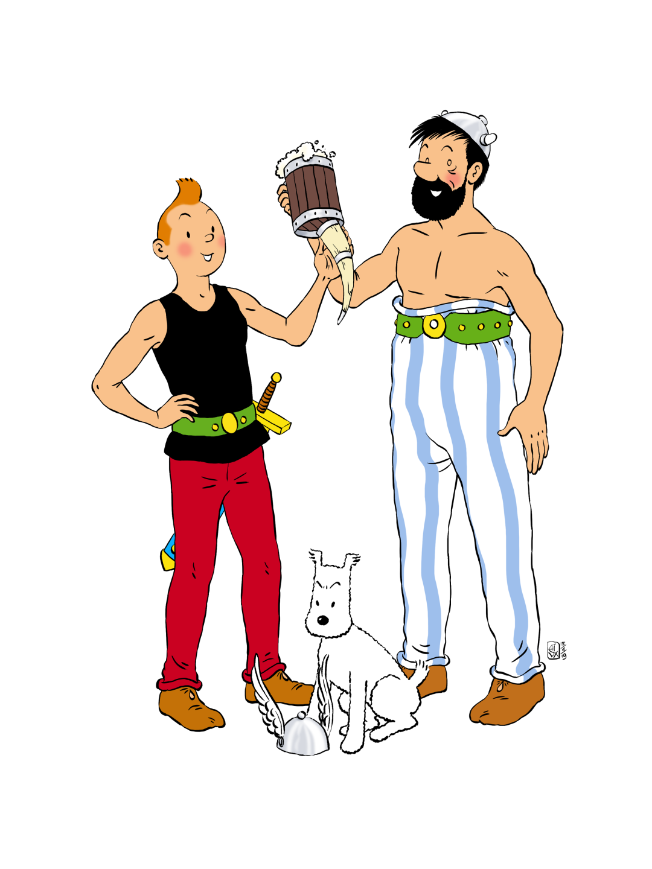 Whimsical Crossover: Tinterix & Haddelix