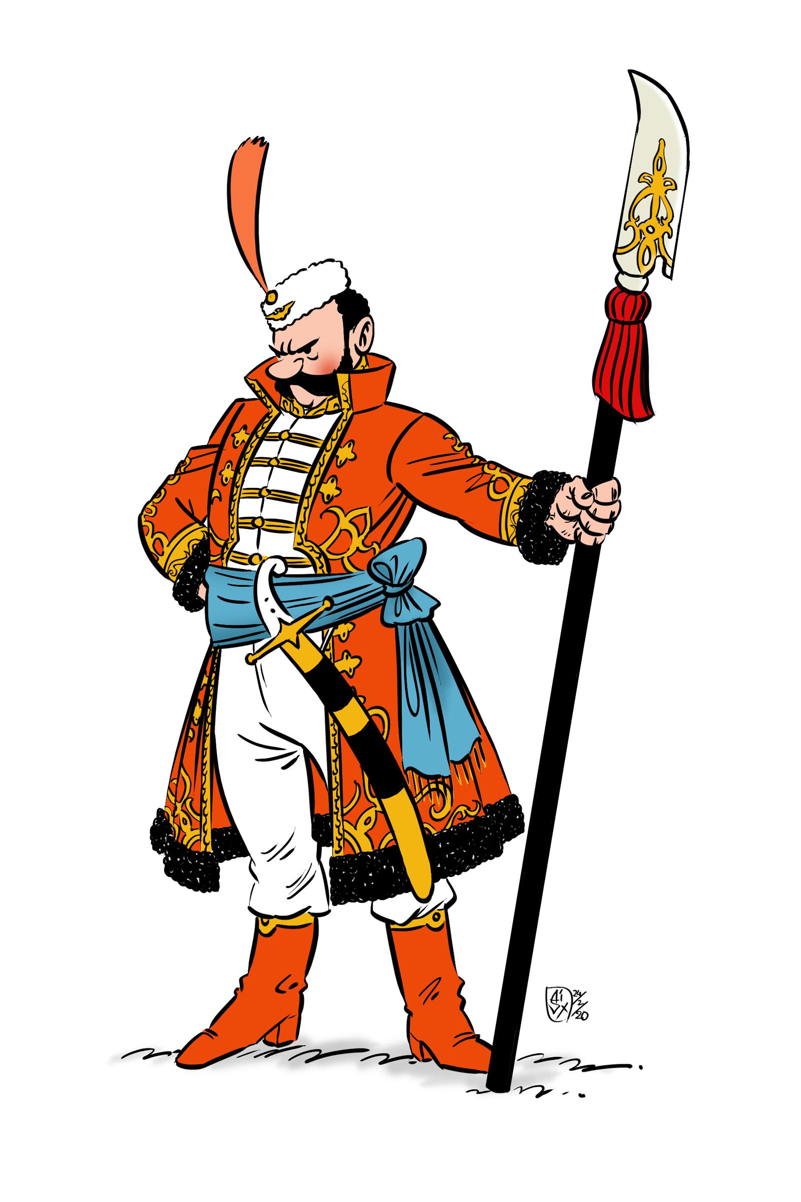 Syldavian Royal Guard